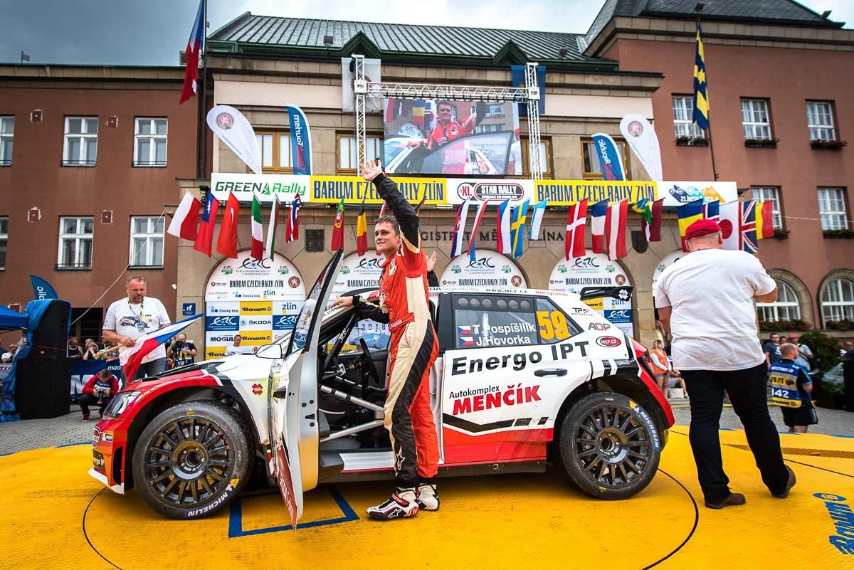 Barum rally Zlín 2018
